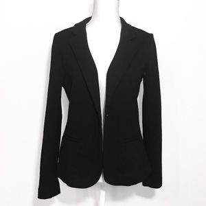 NWOT Black Knit Blazer Long Sleeved A New Day New
